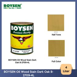 BOYSEN Oil Wood Stain Dark Oak B-2709-4L