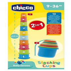 Chicco Stackabe Numbers Toy for Toddlers