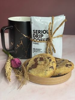 Coffee Loves Cookie Gift Box