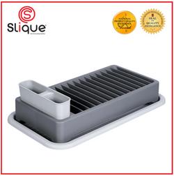 SLIQUE Premium Dish Rack 43x24x12cm Kitchen Essential Amazing Gift Idea For Any Occasion!