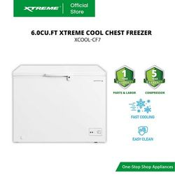 XTREME COOL 6.0cu.ft. Chest Freezer (XCOOL-CF7)
