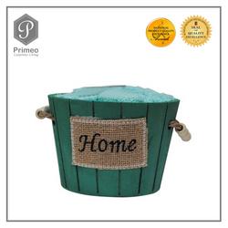 Primeo Luxurious Living  Towel Gift Set (Wooden Basket)