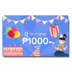 Php1,000 Genie E-Gift Card