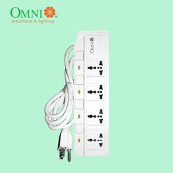 OMNI Individual Switch Extension Cord 4 Gang - WED-340