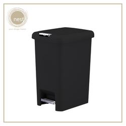 NEST DESIGN LAB Premium Pedal bin Plastic 6.5L