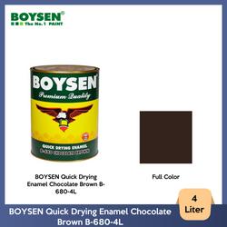 BOYSEN Quick Drying Enamel Chocolate Brown B-680-4L
