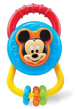 Disney Baby Mickey Asqueezer Rattle (Blue)