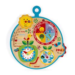 "Janod English Calendar ""Over Time"""