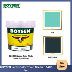 BOYSEN Latex Color Thalo Green B-1405-1/4L