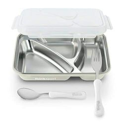 Airtight Food Container with Spoon and Fork