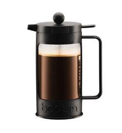 Bodum Bean French Press Coffee Maker  8cup, 1L, 34oz, Black