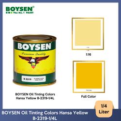 BOYSEN Oil Tinting Colors Hansa Yellow B-2319-1/4L
