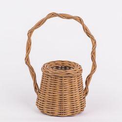 Calfurn Blanche Wicker Basket