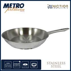 Metro Primera MPCW 1717 28cm Stainlesss Steel  Open Fry Pan