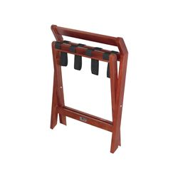 Easton Wooden Luggage Rack Mahogany (ES6021)