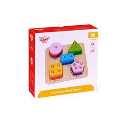 Tooky Toy Geometric Block Sorter(1)