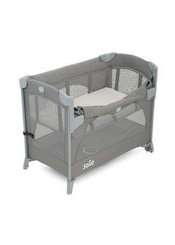 Joie Kubbie Sleep Crib, Foggy Grey