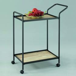 Raviola 2-Tier Mobile Bar Cart