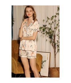 White Label Faye Silk Shorts Set