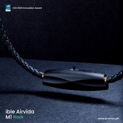 ible Airvida M1 (Black) - Wearable Ionic Air Purifier