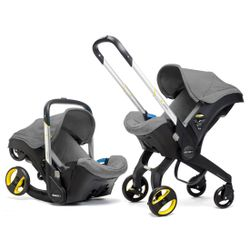 Doona Infant Car Seat/Stroller - Storm Grey