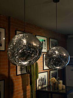 Crampled Hanging Lamp
