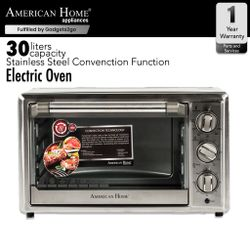 American Home AEO-302SX Electric Convection Oven Stainless 30L