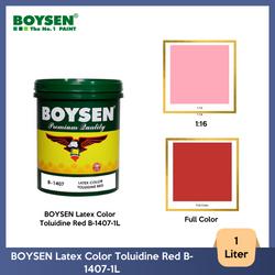 BOYSEN Latex Color Toluidine Red B-1407-1L