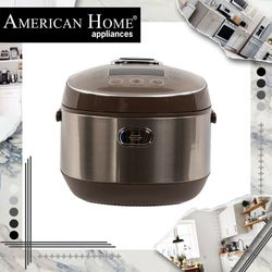 American Home ARC-IH1516 Rice Cooker Ind. Heat. Dig 15