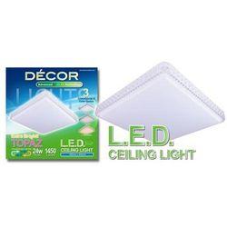 Topaz L.E.D. Ceiling Light Tri-Color