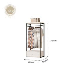 Nest Design Lab Garment Racks with Drawer A