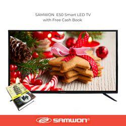"""E50k6 SAMWON 50"""" Smart  LED TV  Full HD with Free  Wall Bracket and Cash Box"""