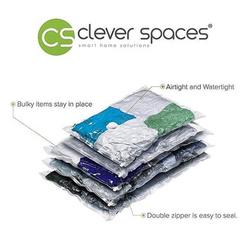 Cleverspaces Vacum Storage Bags Cube