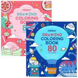 Mideer Coloring Book