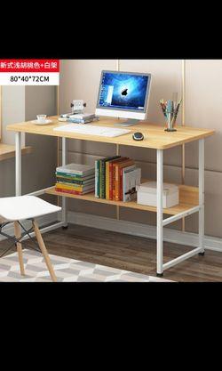 Camie Light Wood Working Desk - Light Wood