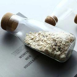Happy Home PH Airtight Cork Glass Storage Bottle Large