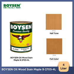 BOYSEN Oil Wood Stain Maple B-2705-4L
