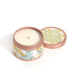 Happy Island Melon Cucumber Soy Candle 2oz