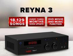 Platinum Reyna 3C Karaoke DVD Player with 18,129 songs
