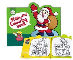 Joan Miro Step by Step Colouring Book -Cartoon Figures