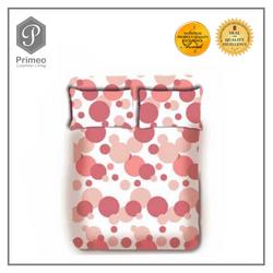 Primeo Premium 220TC Queen Comforter Set, Aqua Comforter, Fitted Sheet, Pillow Case Set of 4