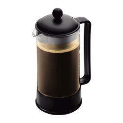 Bodum BRAZIL COFFEE MAKER,8cup,1.0L,34oz,BLACK/1548-01