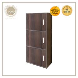 Nest Design Lab Low Cabinet 3 Layer Shelf with Door