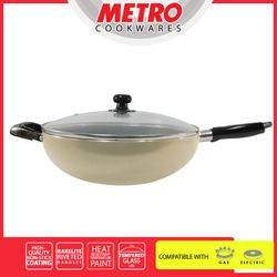 MetroMWO 4812 32cm Non-stick Wok