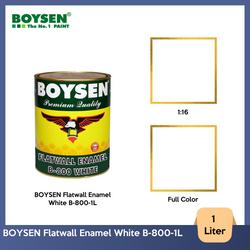 BOYSEN Flatwall Enamel White B-800-1L