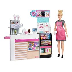 Barbie Career Cook & Bake Coffee Shop Playset