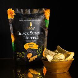 Black Summer Truffle Potato Chips Honey Dijon