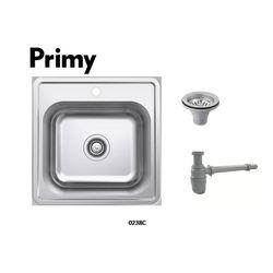 Primy 1 bowl inset kitchen sink w/o Overflow 0238C