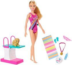 Barbie Dreamhouse Adventures Princess Adventures Sports Barbie Swimmer Playset