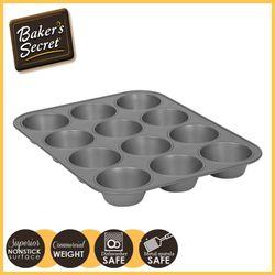 BAKER'S SECRET 64200 12CUP MUFFIN PAN